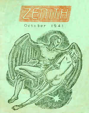 Zenith #2, cover by Harry Turner
